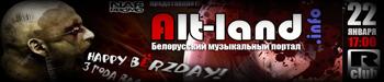 22 января в R-club Alt-Land.info H..bёrZday!