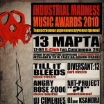 INDUSTRIAL MADNESS MUSIC AWARDS 2010