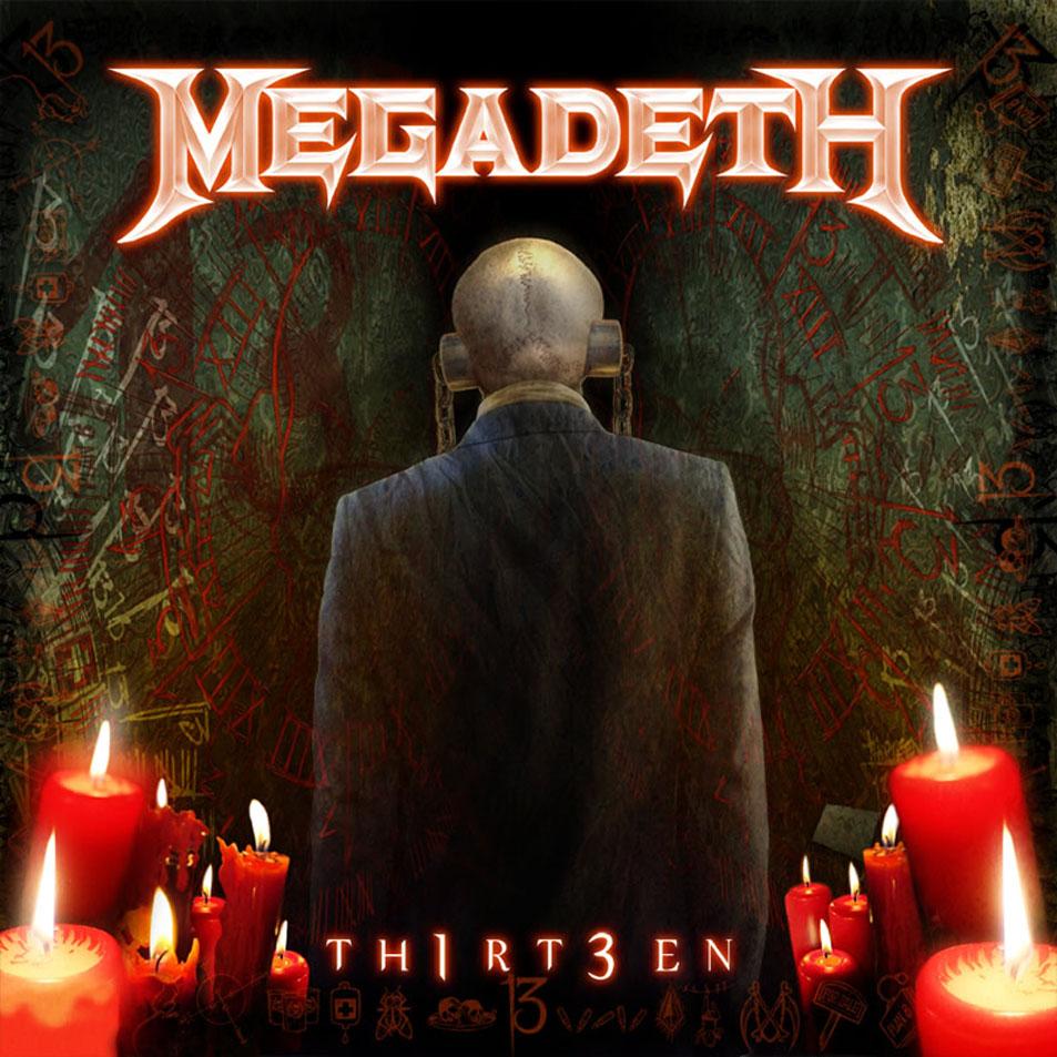 Новые альбомы ноября 2011: Megadeth - «TH1RT3EN»