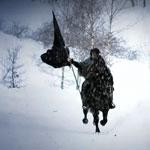 Скандинавы на снегу. Видео