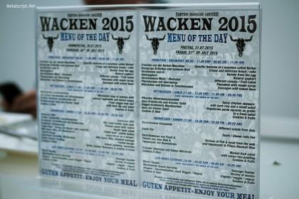 Звездное меню: художник должен быть голодным - это точно не об участниках Wacken Open Air.