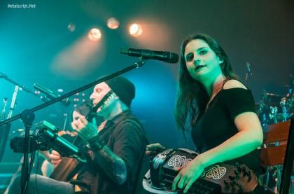 А потом на сцену вышли Eluveitie