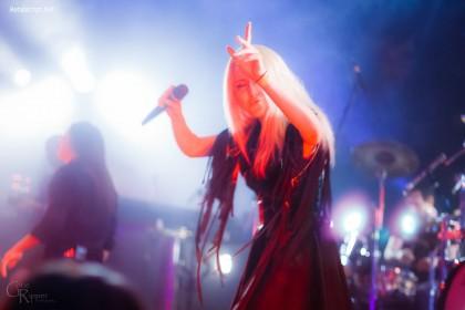 На разогреве выступала российская группа Antillia.